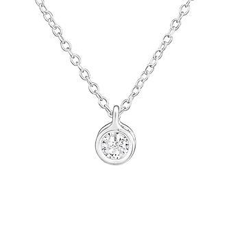 Redondo - plata de ley 925 Jewelled collares - W38251X