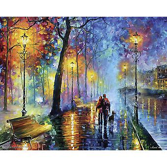 Melody Of The Night Poster Leonid Afremov  Kleinformat