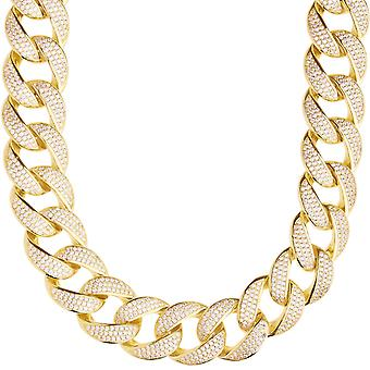 Premium bling Sterling 925 Silver Miami Cuban chain - 18mm