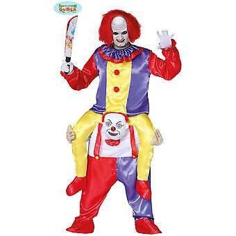 Mannen kostuums Carry me killer clown pak