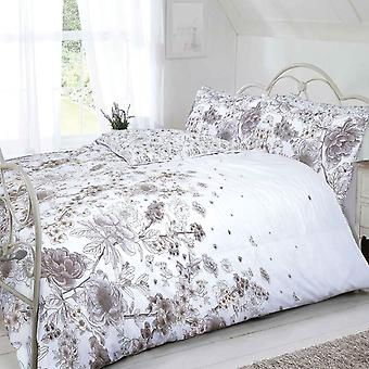 Pieridae Sketch Floral Duvet Cover Quilt Cover Bedding Set