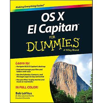 OS X El Capitan voor Dummies door Bob LeVitus - 9781119149613 boek
