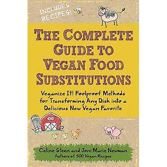 Den kompletta guiden till Vegan mat substitutioner - Veganize det! Foolproo