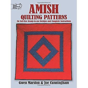 Amish Quilting mönster: Full-Size Ready-to-Use mönster och fullständiga instruktioner