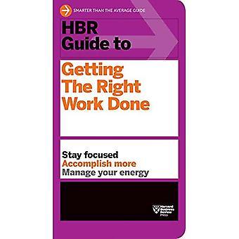 HBR gids om het verkrijgen van het juiste werk (Harvard Business Review)