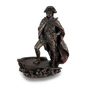 Bronze Finish George Washington Delaware Crossing Statue