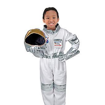 Childrens Melissa and Doug Astronaut Fancy Dress Costume Age 3-6