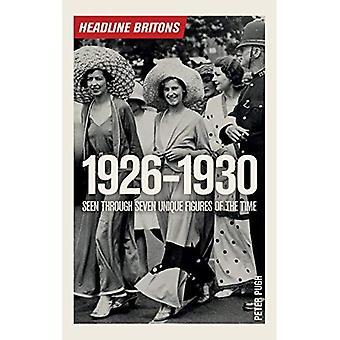 Headline Briten 1926-1930