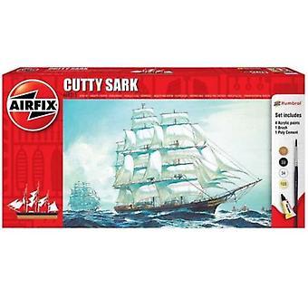 Airfix A68215 1:590 Kit de modelo de inicialização Cutty Sark