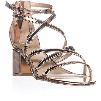 Material Girl Womens Minez1 Open Toe Casual Strappy Sandals