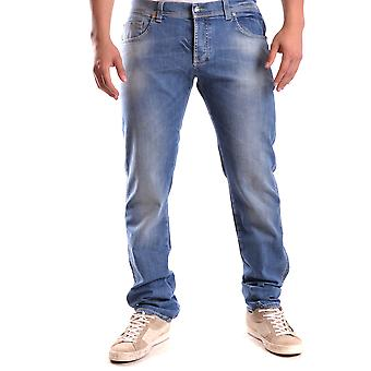 Cesare Paciotti Ezbc112009 Men's Blue Denim Jeans