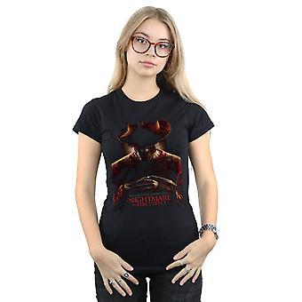 Een nachtmerrie op Elm Street Women's Weclome om uw nieuwe nachtmerrie T-shirt