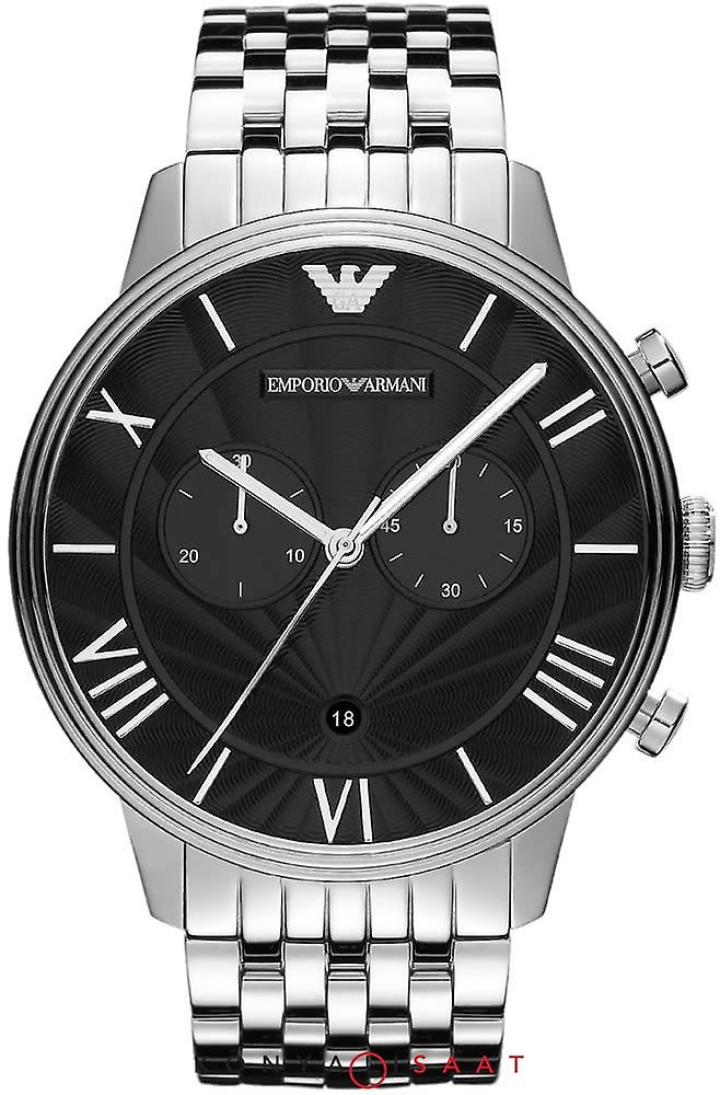 Emporio Armani Ar1617 Mens Latest Steel Chronograph Watch