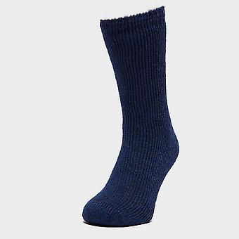 New Heat Holders Boy's Original Thermal Socks Navy