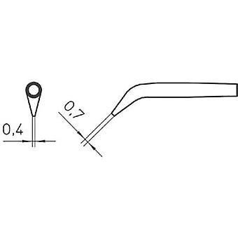 Weller RTW2 Soldering tip Round, bevelled 45° Tamanho da ponta 0,7 mm Conteúdo 1 pc (s)
