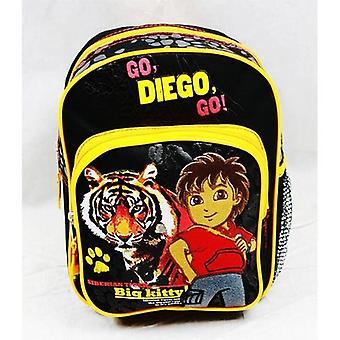 Mini Backpack Go, Diego, Go! Siberian Tiger Big Kitty School Bag 82230