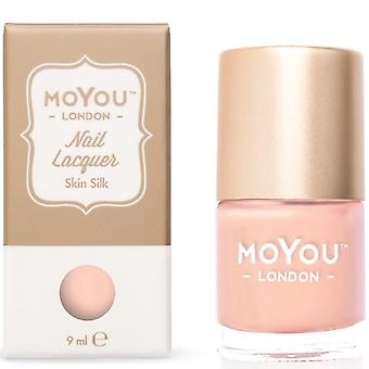 MoYou London Stamping Nail Lacquer - Skin Silk 9ml (MN016)