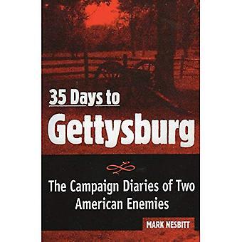 35 dagen naar Gettysburg