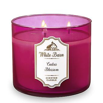 Bath & Body Works White Barn Cactus Blossom Scented Candle 14.5 oz / 411 g