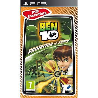 Ben 10 beskyddare av jorden-Essentials (PSP)-ny