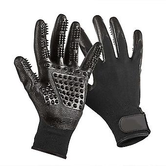 Animal fur care glove - Black