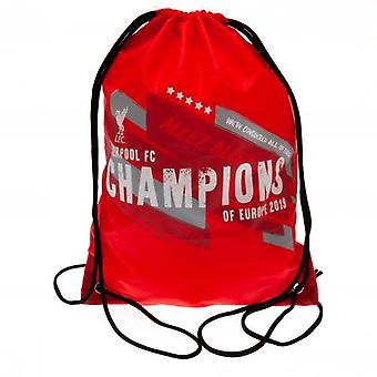 Liverpool Champions Of Europe Gym Bag