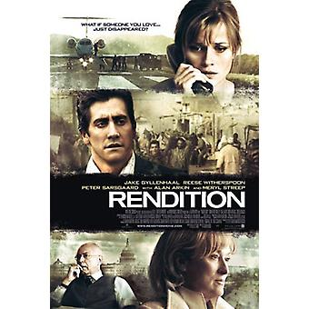 Rendition (Double Sided) Original Cinema Poster