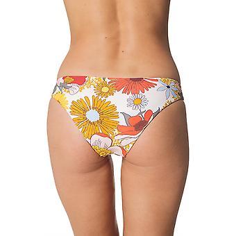 Rip Curl Summer Lovin Revo Cheeky Pant Bikini Bottoms in Light Pink