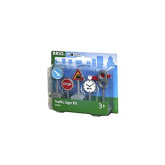 Brio 33864 Traffic Sign Kit