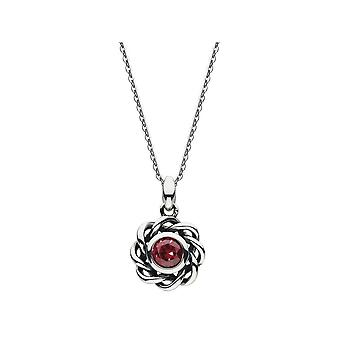 Kit Heath Heritage Heritage Mystic Birthstone July Ruby Necklace 9234JUL024