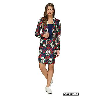 Day of the Dead Fiesta Summer Women's SuitMaster Economy 2 pièces