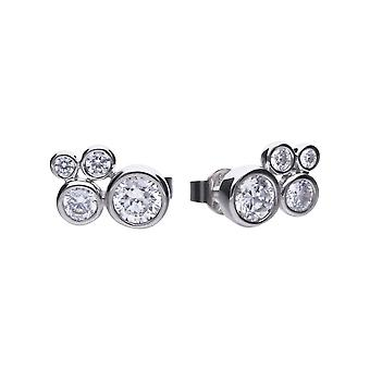 Diamonfire Bubble Stud Cubic Zirconia Earrings E5780