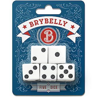 Brybelly Dice, 5-pack