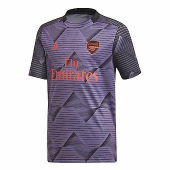 2019-2020 Arsenal Adidas Pre-Match Training Shirt (Lila)