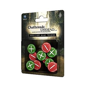 Survivor's Tokens: Outbreak Undead 2E: The Survival Horror Simulation RPG