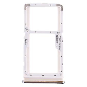Sim Card Tray for Xiaomi Redmi Note 8 Pro Silver Cards Holder Sled Holder Spare Part