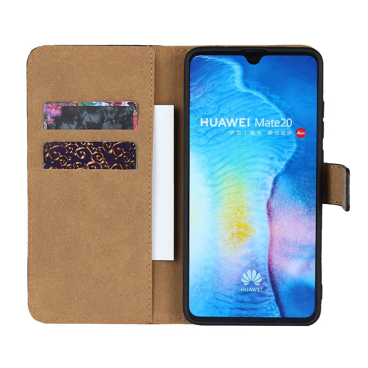 iCoverCase | Huawei Mate 20 | Plånboksfodral