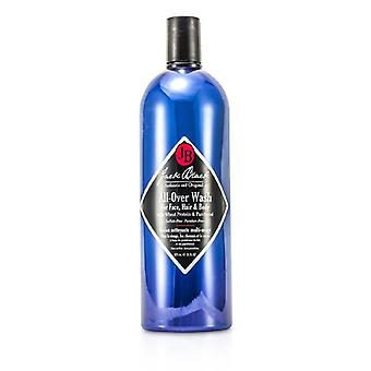 Jack Black All Over Wash For Face Hair & Body - 975ml/33oz