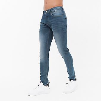 Born Rich Blue Slim Fit Jeans