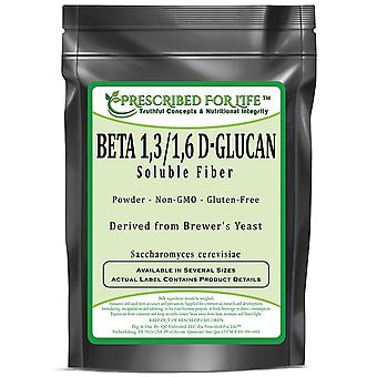 Beta 1,3/1,6 D-Glucan - Natural Soluble Fiber from Brewers Yeast (Saccharomyces cerevisiae)