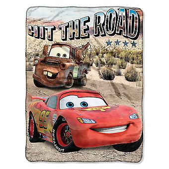 Fleece Throws - Disney's Cars - Off The Road 45x60