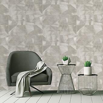Caprice Texture Geo Wallpaper Silver Belgravia 5442