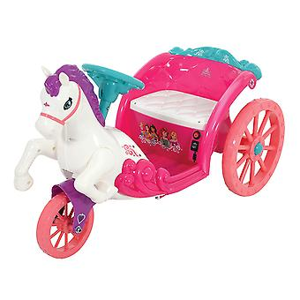 Disney Princess 6V Battery Operated Horse and Carriage Ride On MV Sports Ages 3
