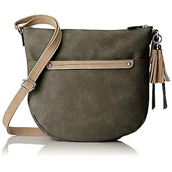 s.Oliver (Bags) 39.808.94.3863 - Green Women's Shoulder Bags (Green) 7x28x31 cm (B x H T)