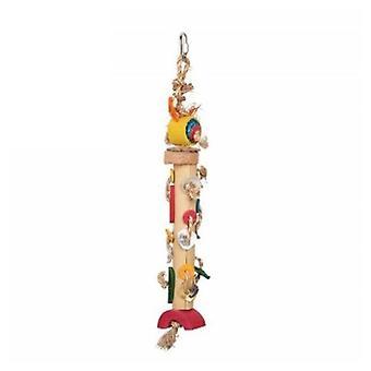 Tropican Hari Torre de Bambú S (Vögel , Spielzeug)