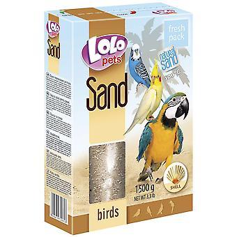 Lolo Lolo Grit Oyster 1,5 kg für Vögel (Vögel , Nahrungsergänzung)