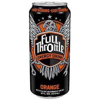 Full Throtte Orange -( 473 Ml X 12 Cans )