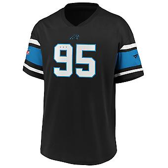 Ikoniska Poly Mesh Supportrar Jersey Trikot - Carolina Panther