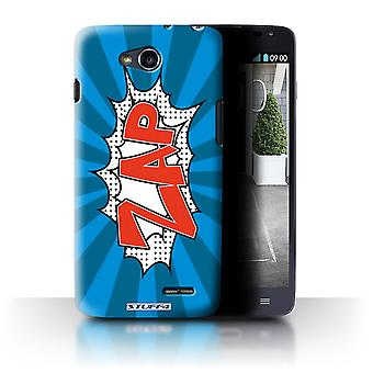 STUFF4 Case/Cover for LG L90/D405/Zap/Comics/Cartoon Words