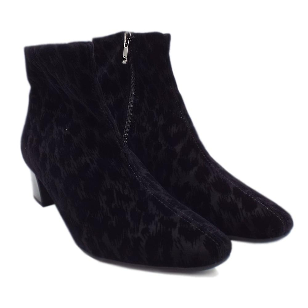 Peter Kaiser Osara Fashion Ankle Boot In Black Tulia kYQJl